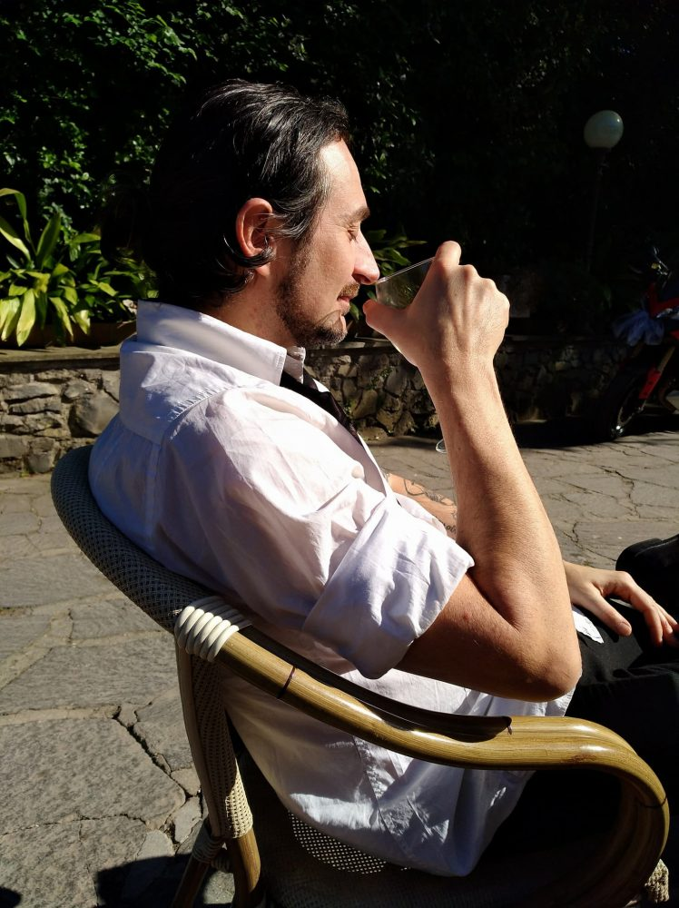Enjoying the sun in Rome 2017
