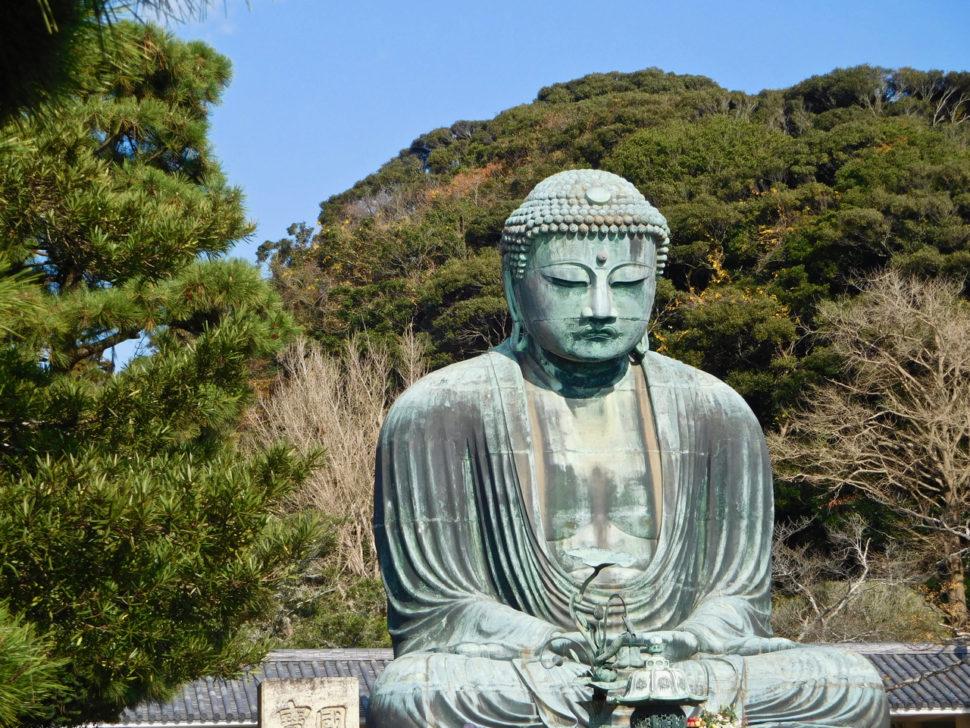 Le très célèbre Bouddha assis de Kamakura