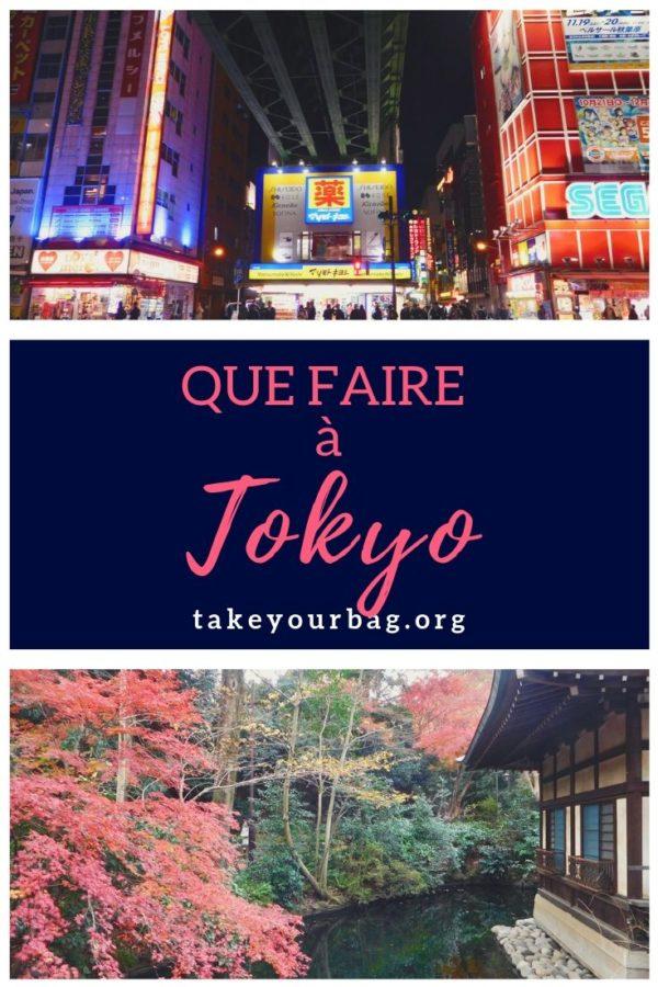 Epingle pinterest que faire à Tokyo
