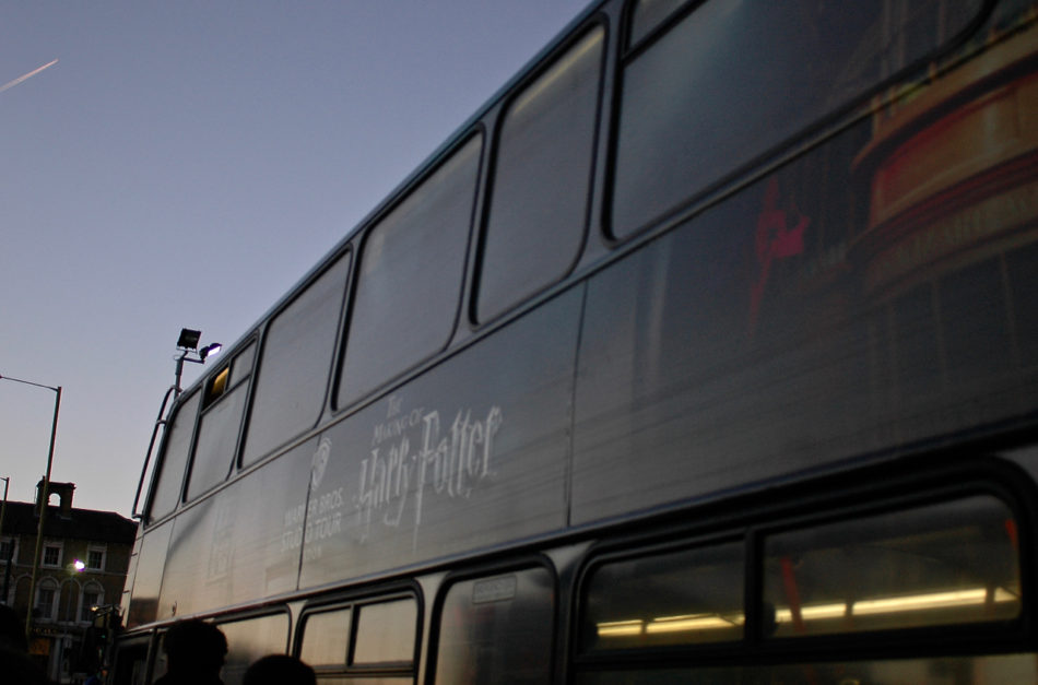 Harry Potter Warner Bros Studio Shuttle bus