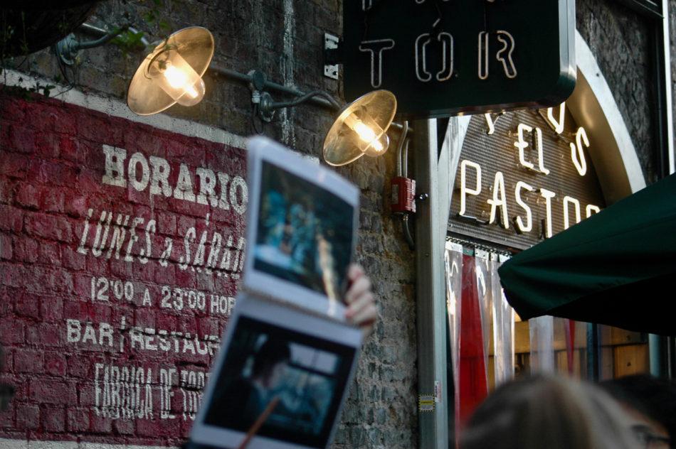 L'entrée du (??) Leaky Cauldron au Borough Market à Londres