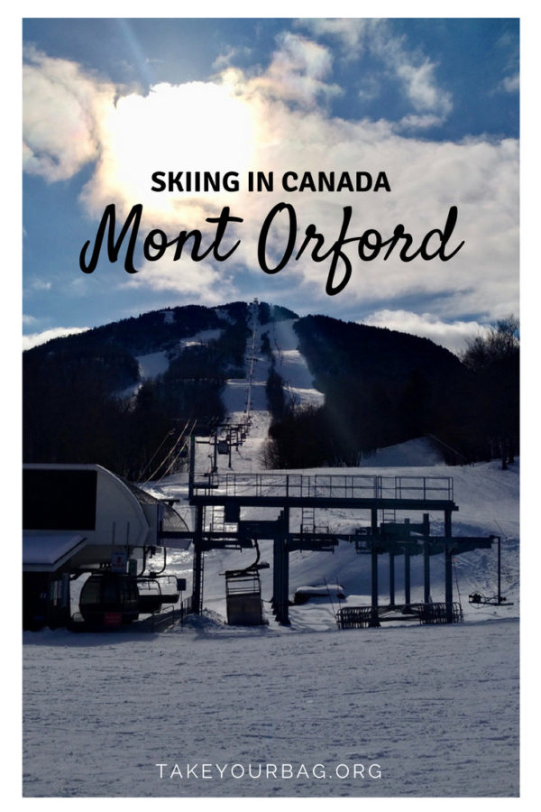 Ski resort Mont Orford in Canada |Montreal things to do in winter | best ski resorts in Quebec | what to pack for skiing