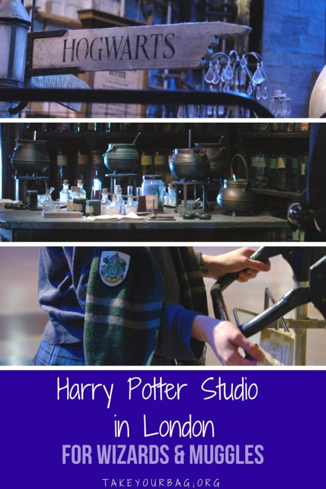 Harry Potter Studio Tour London | Immerse yourself in the magic of the Harry Potter movies at the Warner Bros Studio in London | Step into the Great Hall | Visit the Gryffindor Cormmon Room | See the Potions Classroom set | #harrypotter #potions #GryffindorTower