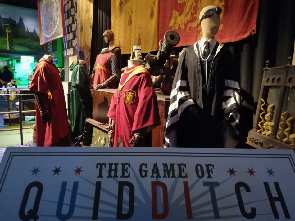 Quidditch part of the Harry Potter Warner Bros Studio