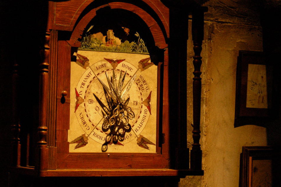 Weasley Clock at the Harry Potter Warner Bros Studio