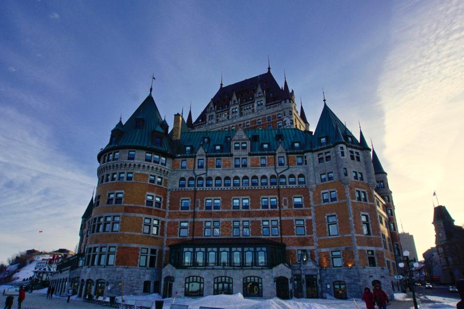 Fairmont le Château Frontenac hotel in Old Québec