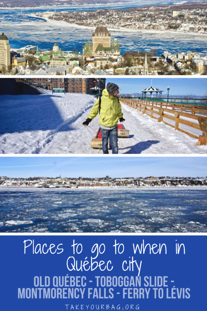 Places to check out when you're in Québec |Petit Champlain Québec |Where to eat vegan in Québec | places to visit in Québec city #oldquebec #montmorencyfalls