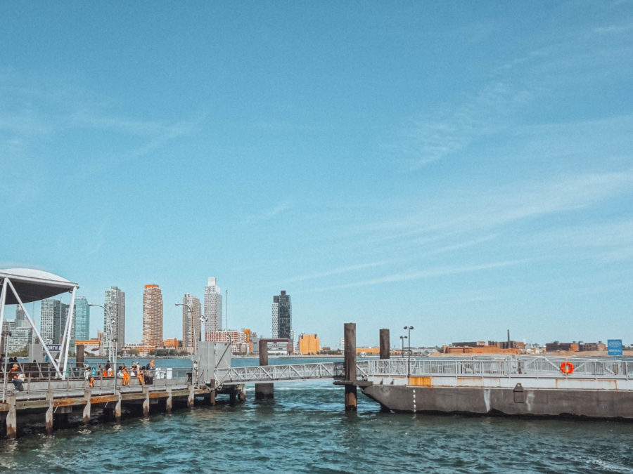 Off the beaten path things to do in NYC Ferry Pier on 35th to go to New Jersey