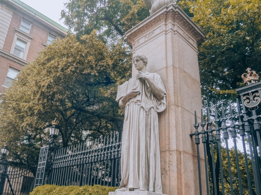 Off the beaten path things to do in NYC Upper West Side the entrance to the campus of Columbia University