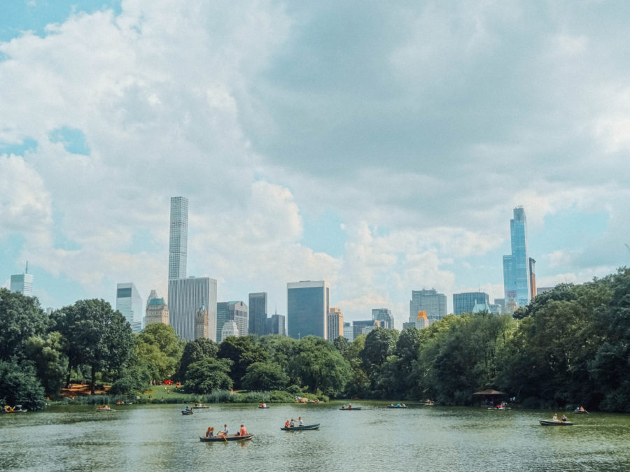 Off the beaten path things to do in NYC boating in Central Park