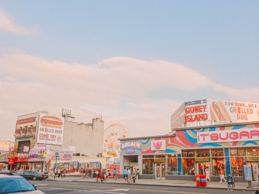 Off the beaten path things to do in New York checking out Coney Island