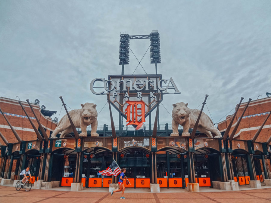 Itinerary USA road trip by bus - Detroit Arena