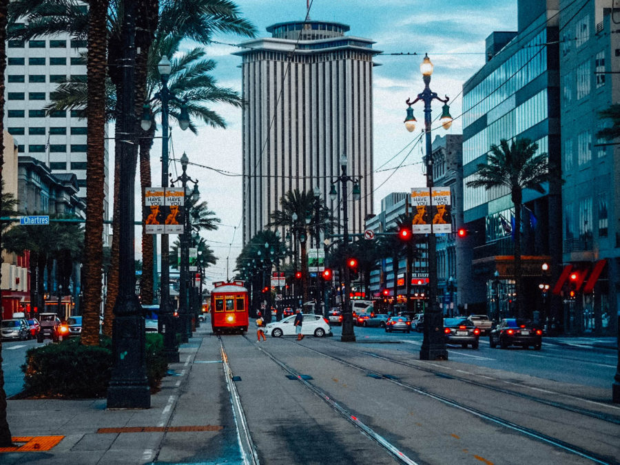 Itinerary USA road trip by bus - Arriving in New Orleans