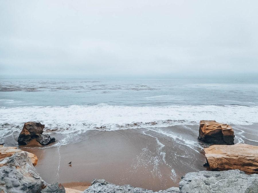 Itinerary USA road trip by bus - Santa Cruz beach