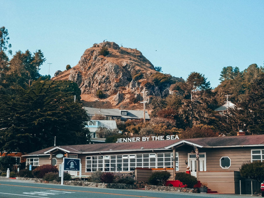 Itinerary USA road trip by bus - Jenner By The Sea