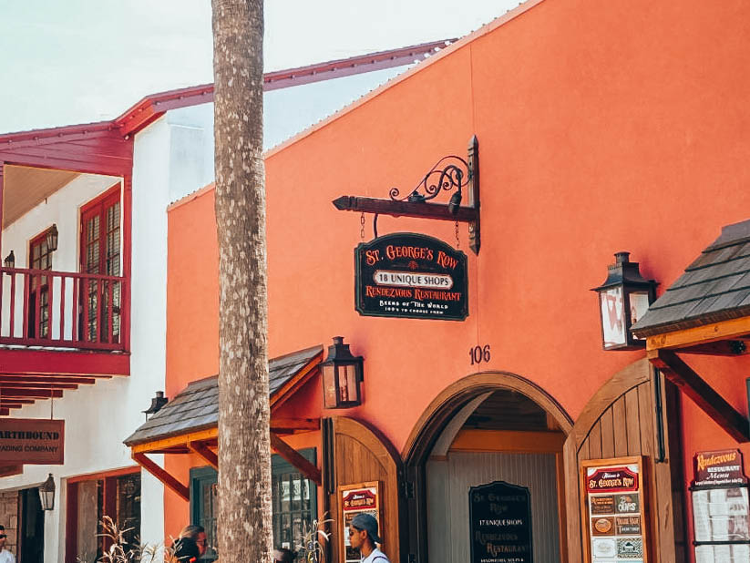 Itinerary USA road trip by bus - Cute town of St Augustine