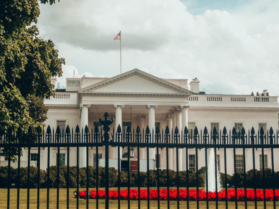 Itinerary USA road trip by bus - The White House in Washington DC
