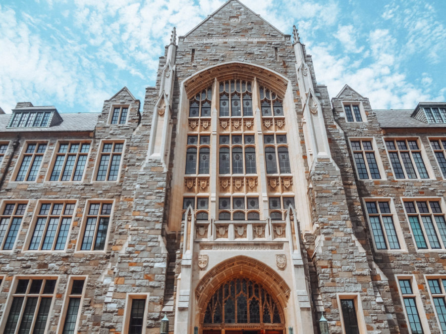 Itinerary USA road trip by bus - Georgetown University building