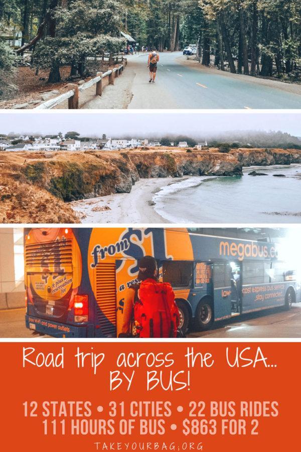 Road trip across the USA by bus | Megabus bus rides on the East Coast |NYC to Boston | Detroit to Chicago |Chicago to Philadelphia| Philadelphia to Pittsburgh,.... | #bus #megabus #usa