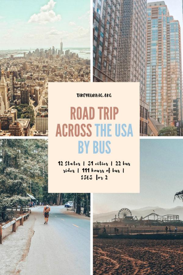 Travel USA by bus |Megabus and Greyhound bus trips | Greyhound on the West Coast | Jacksonville to New Orleans | New Orleans to Houston | San Diego to LA | LA to Oakland | Oakland to Sacramento...... #bustrip #ride #roadtrip