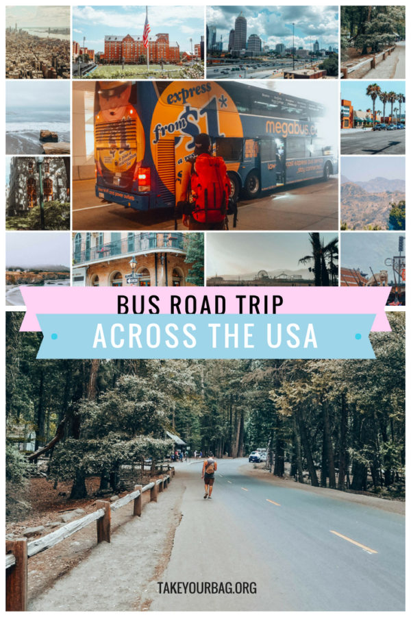 Travel crossing the USA by bus | Taking Megabus and Greyhound in the USA | Is Megabus safe? | Is Greyhound worth it? #megabus #greyhound #roadtrip