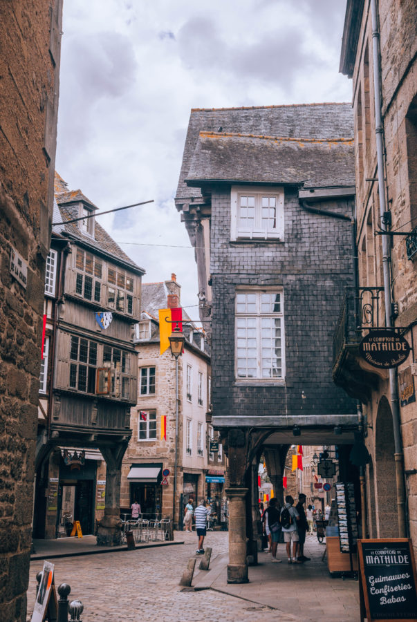 Dinan: a short drive from St Malo