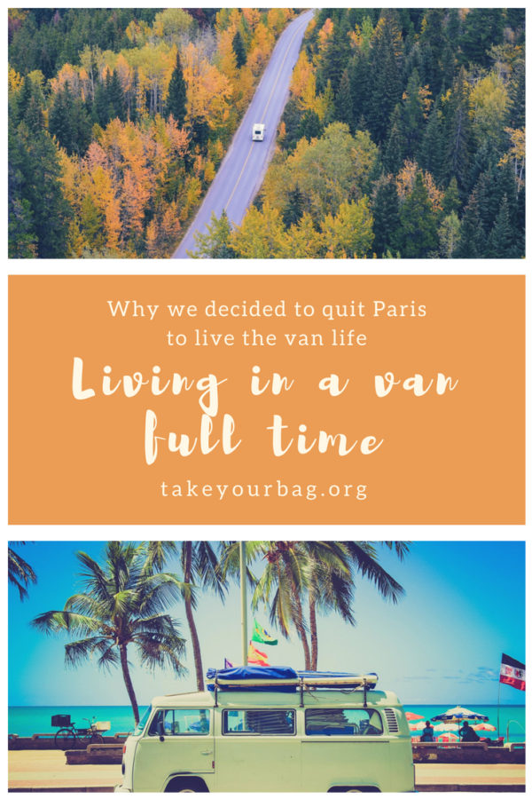 Living in a van full time | Pros and cons to travel in a camper van | Traveling in a converted van | #vanlife #convertedvan #campervan