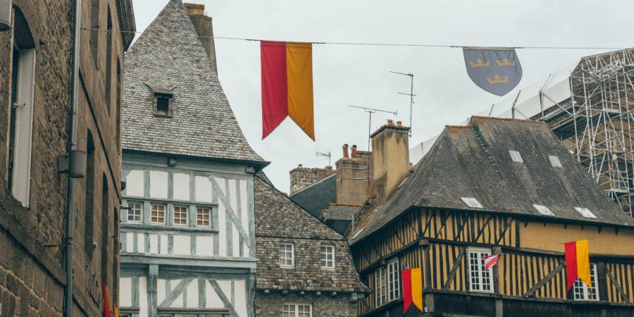 Visiter Dinan et ses belles maisons colorées à pans de bois
