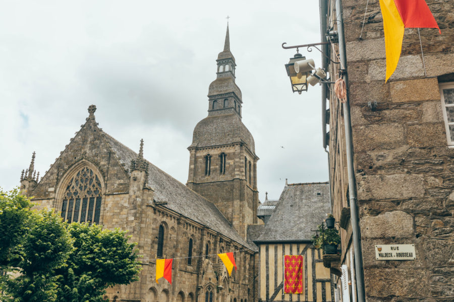 Dinan, one of the cutest medieval cities in Brittany