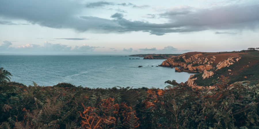 Cléden Cap Sizun, one of the most beautiful places in Brittany, France