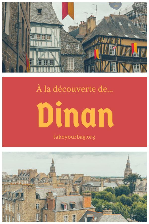Découvrir Dinan | Une journée à Dinan | Dinan en Bretagne | cité médiévale de Dinan | Tour de l'horloge de Dinan | village médiéval de Dinan #voyage #france #bretagne