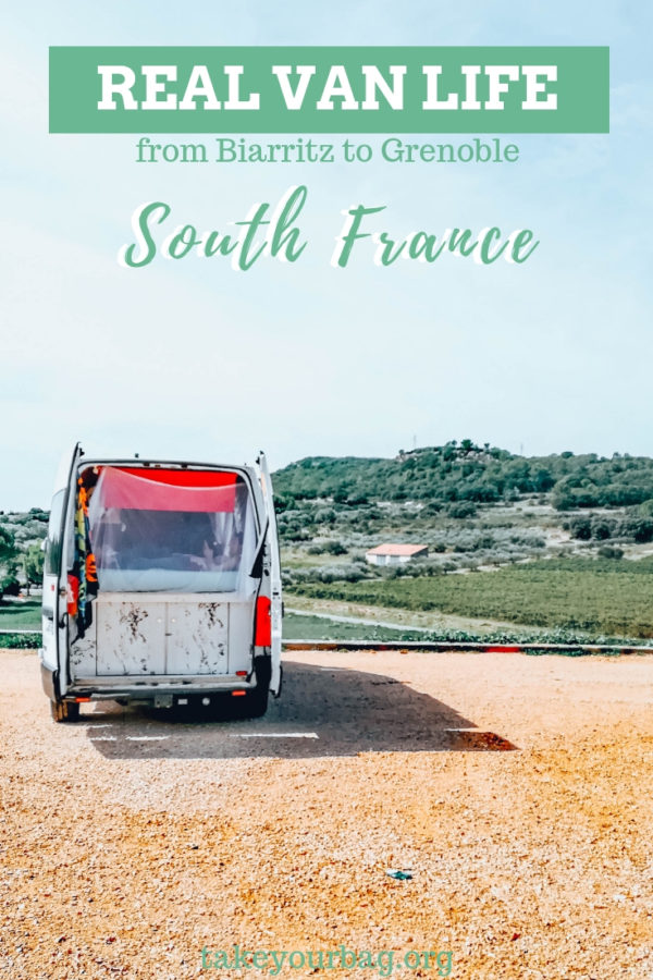 Our van road trip in South of France from Biarritz to Grenoble