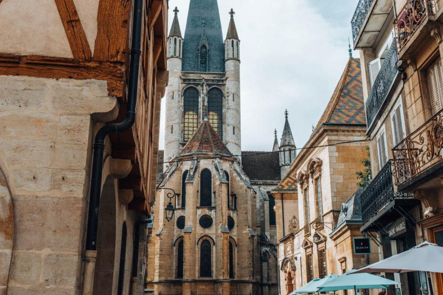 Beautiful church in Dijon