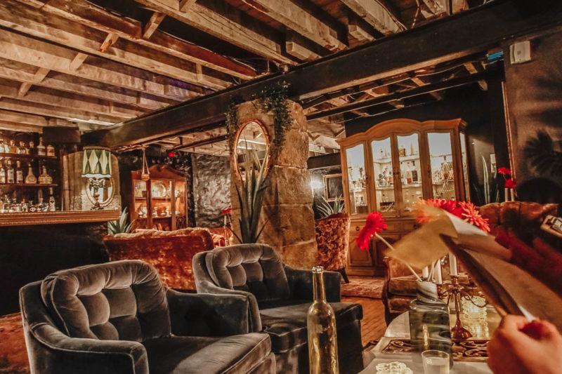 Clandestino speakeasy mezcal bar in Montreal