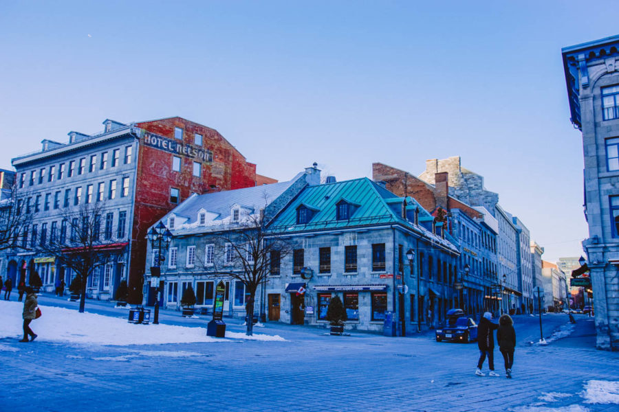 The cute little buildings of Old Montreal