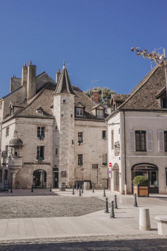 The maison du Colombier in Beaune