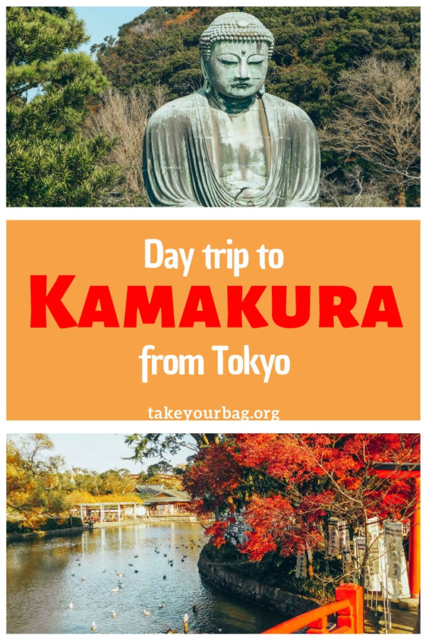 Day trip to Kamakura from Tokyo Japan | Where to go in Kamakura and plan the perfect trip to Kamakura in Japan