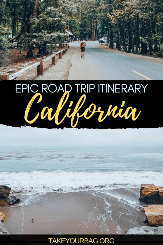 Epic California Road Trip Itinerary  Bucket List Stops in California  Northern and Southern California   San Francisco   USA