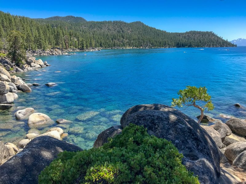 Gorgeous Lake Tahoe stop on our California Road Trip itinerary
