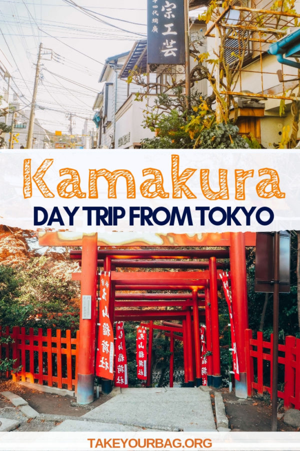 Kamakura day trip from Tokyo | Tips to spend a great day in Kamakura from Tokyo with info on how to get to Kamakura from Tokyo and which temples to visit