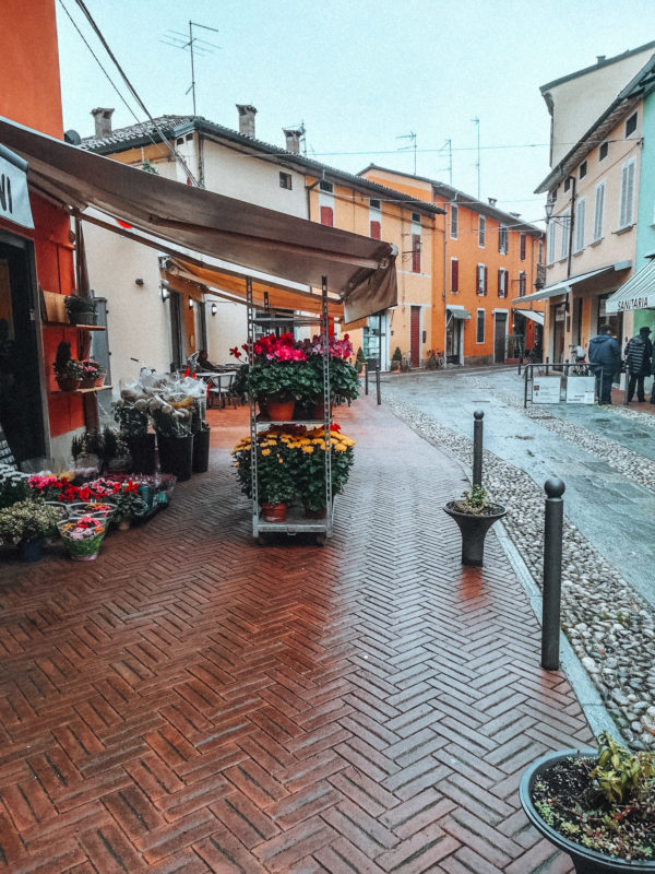 Little town near Parma in Italy in our camper van-1