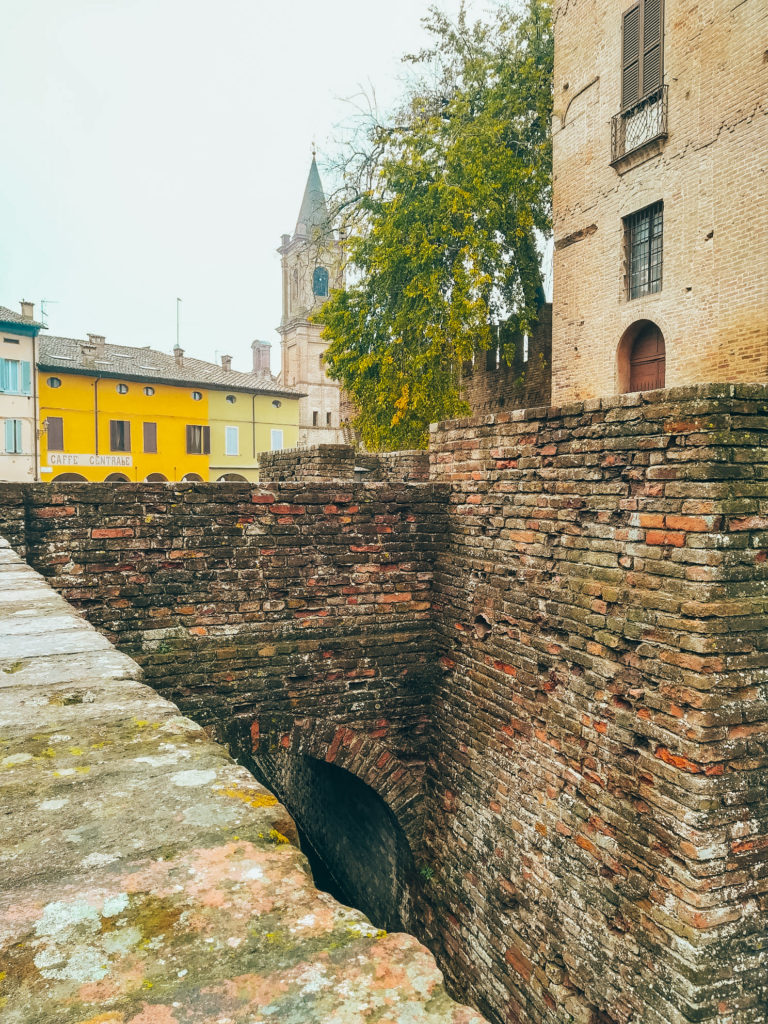 Little town near Parma in Italy in our camper van-3