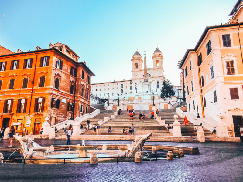 Spanish Steps Piazza di Spagna in Rome