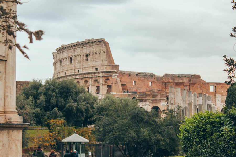 The Colosseum from afar