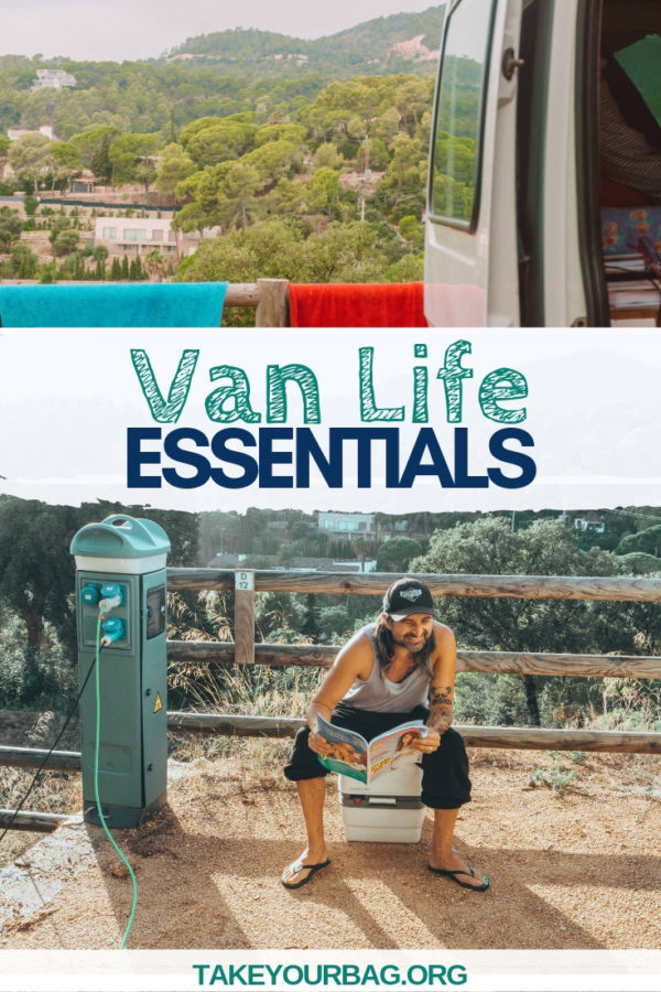Van Life Essentials you won't want to leave without! Check these items to add to your van conversion to have the best time!
