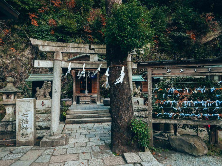 Zeniarai Benzaiten Shrine in Kamakura on a day trip