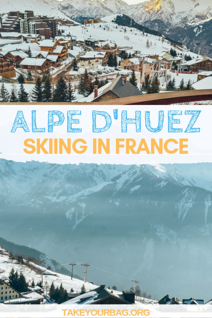 Alpe d'Huez Skiing in France | Perfect ski accommodation in Alpe d'Huez in the French Alps | Winter trip in France |