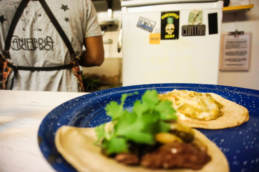 Candelaria taco