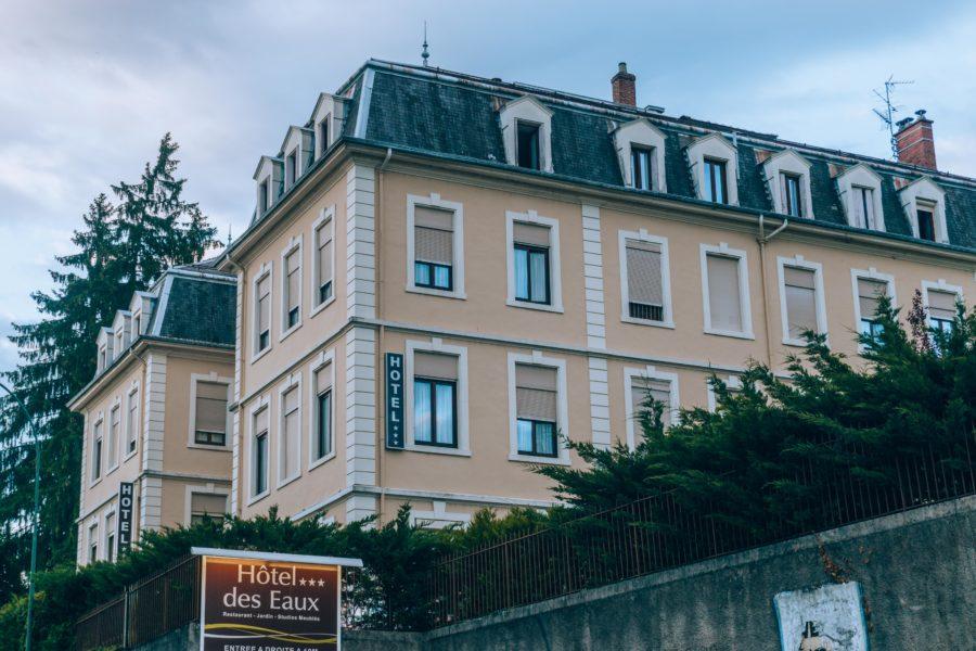 The Hôtel des Eaux in Aix les Bains