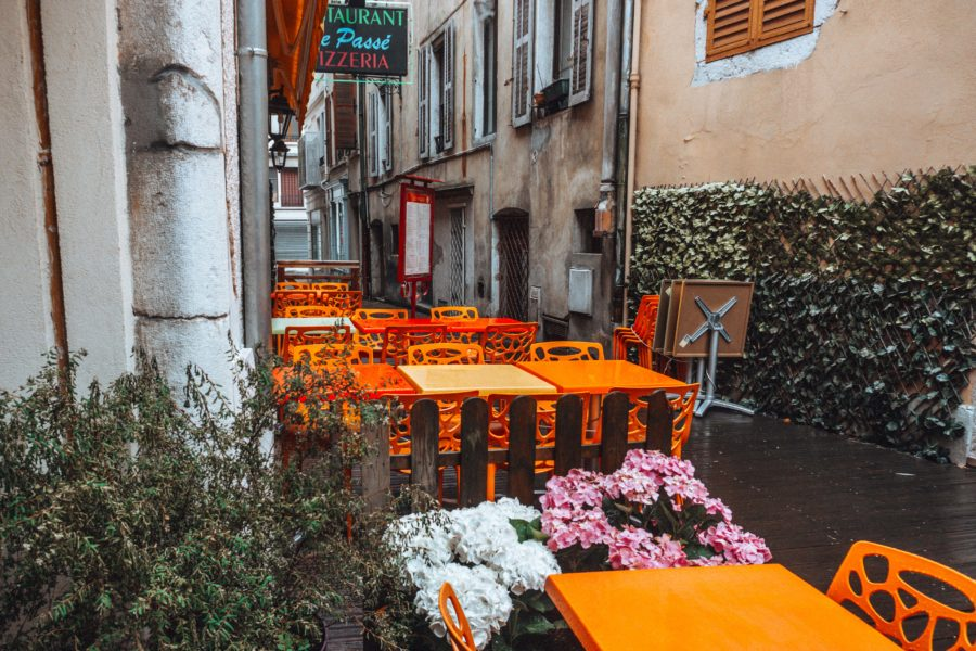 Restaurant italien Le Passé à Aix les Bains